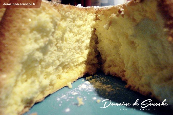Le gâteau de Savoie de Mamie de la ferme